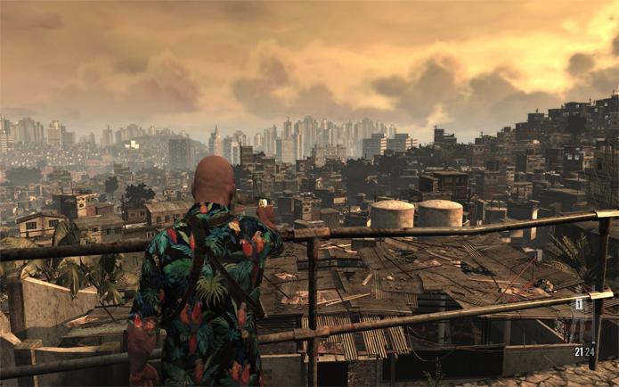 Max Payne 3 tem versão da cidade de São Paulo com contrastes entre áreas ricas e pobres (Foto: Divulgação/Rockstar)
