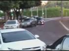 Motoristas que bateram carros de propósito podem responder por dano