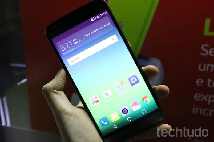 LG G5 vem de fábrica com Android 6.0 (Foto: Luciana Maline/TechTudo)