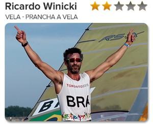 Peso do Ouro - Ricardo Winicki - Vela - Prancha a vela - Bimba (Foto: GloboEsporte.com)