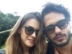 Raphael Vianna posta foto em clima de romance com Angela Munhoz