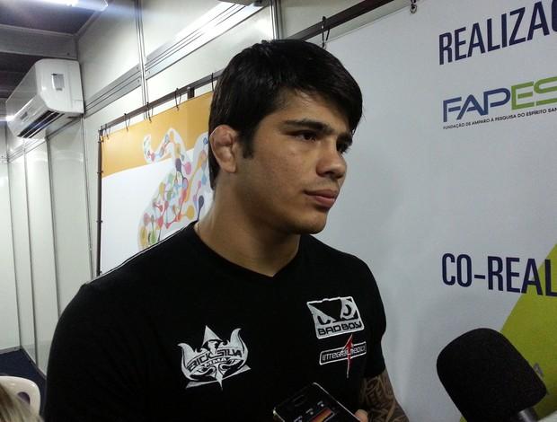 Erick SIlva, lutador do UFC (Foto: Richard Pinheiro/Globoesporte.com)