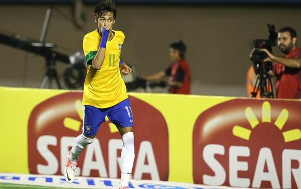 Neymar gol Brasil x Argentina (Foto: Mowa Press)