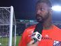 Felipe lamenta gol no fim após empate do Bragantino contra Criciúma