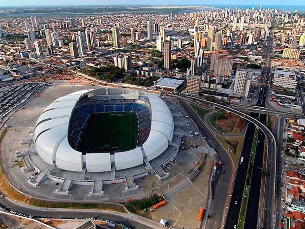 Arena das Dunas, em Natal, receberá quatro jogos durante o Mundial (Foto: Canindé Soares/G1)