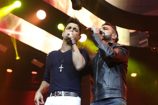 Zezé di Camargo e Luciano (Foto: Thiago Duran e Eduardo Martins/AgNews)