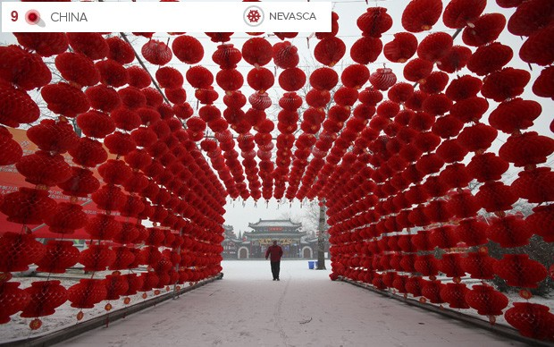 Clima extremo China (Foto: AP)