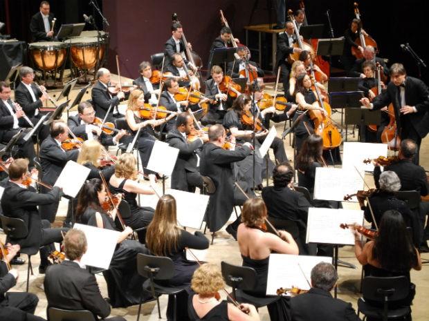 Orquestra Sinfônica do Paraná se apresenta na Catedral Metropolitana de Londrina (Foto: Divulgação/AEN)