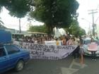 Estudantes protestam contra aumento da passagem em Santarém