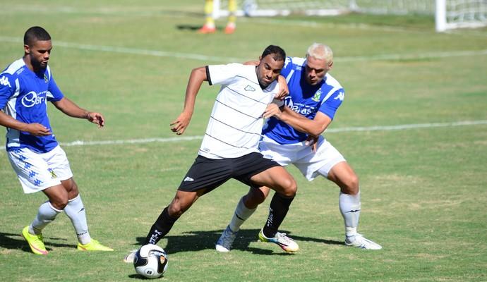 Rio Branco-SP x Santo André Série A2 Marcelo Soares (Foto: Sanderson Barbarini / Foco no Esporte)