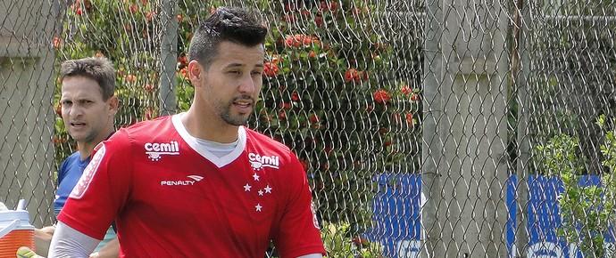 Fabio Treino do Cruzeiro (Foto: Mauricio Paulucci)