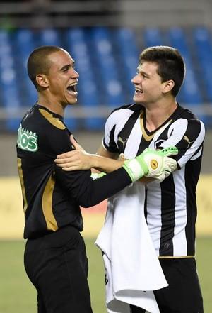 Botafogo x Fluminense, Renan (Foto: André Durão)