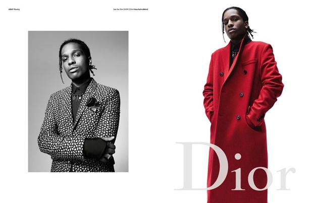 ASAP Rocky na campanha de inverno 2016 da Dior Homme (Foto: Divulgação)