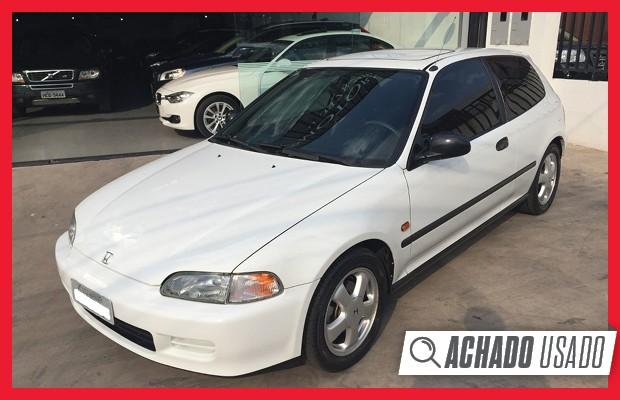 Achado Usado  Um Honda Civic Vti 1995 Zerado