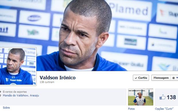 Valdson Irônico faz sucesso na rede (Foto: Reprodução/Facebook)
