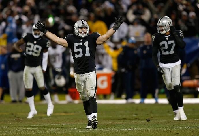 Oakland Raiders x San Diego Chargers NFL futebol americano (Foto: Getty Images)
