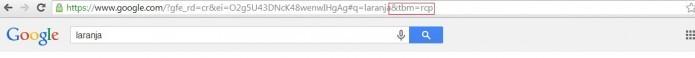 Insira as letras no final da URL (Reprodução/Taysa Coelho)