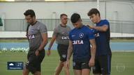Flu e Botafogo em campo no domingo