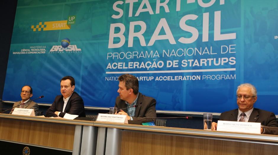 Cerimônia de abertura do Start-Up Brasil (Foto: Divulgação)