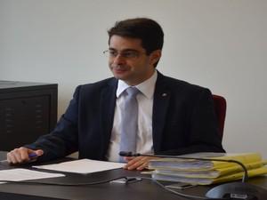 Nilzir Soares é promotor de justiça e diretor do CAOp da saúde (Foto: Tássio Andrade/G1)