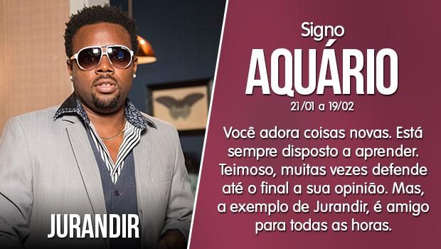 Aquário - Jurandir (Foto: Gshow)