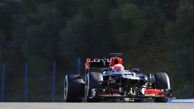 Romain Grosjean formula 1  jerez de la frontera (Foto: AFP)