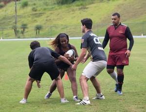 Treino UFJF Rugby e JF Rugby 2 (Foto: Caio Pereira/Divulgação)