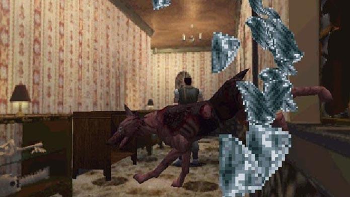 Resident Evil e seus sustos com cachorros zumbis assustadores (Foto: Divulgação)