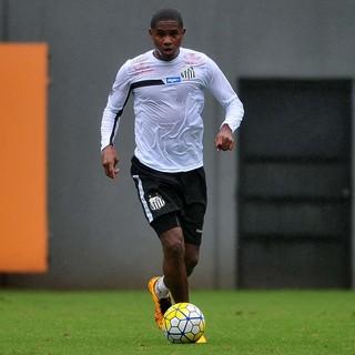 Valencia Santos (Foto: Ivan Storti / Divulgação Santos FC)