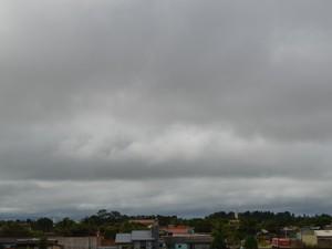 Chuvas e trovoadas podem ocorrem a qualquer momento no Cone Sul de Rondônia  (Foto: Dennis Weber/G1)