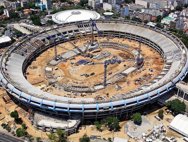 Obras do Maracanã serão abertas ao público (Foto: Divulgação / ANGULAR FOTOGRAFIAS AÉREAS)