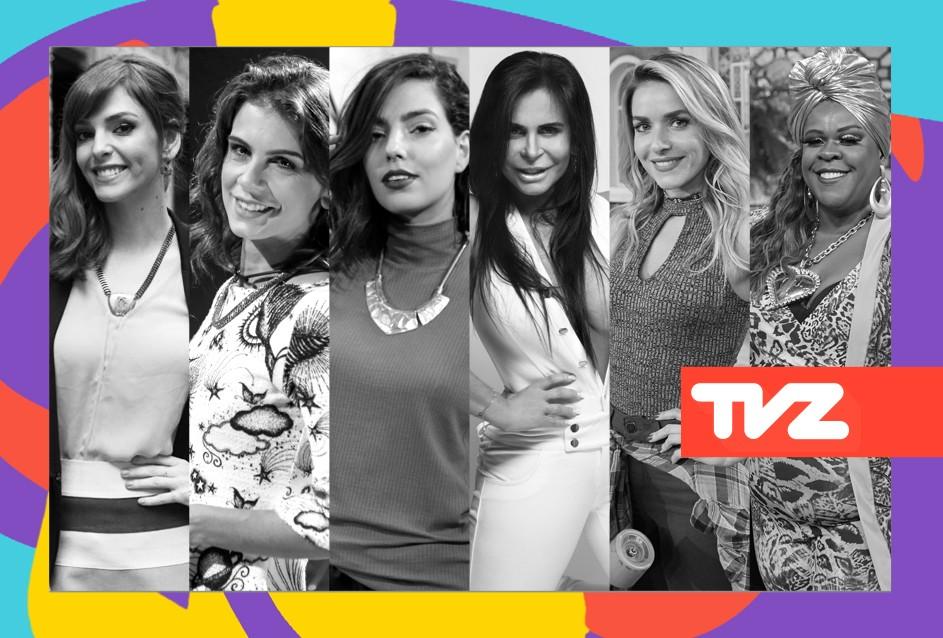 TVZ Ao Vivo desta quarta (7) tem time de apresentadoras que  puro girl power (Foto: Divulgao/Multishow)