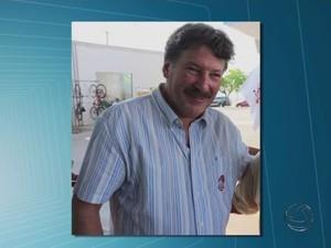 Ex-prefeito de Ponta Porã (MS), Oscar Goldoni, foi morto a tiros de fuzil (Foto: Reprodução/TV Morena)