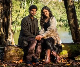 Bruno Cabrerizo e Vitória Strada, os protagonistas de 'Tempo de amar' | TV Globo