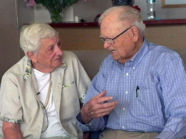 Casal se separou logo depois da Segunda Guerra Mundial (Foto: BBC)