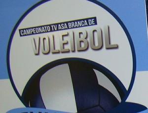 Troféus 5ª Copa TV Asa Branca de Vôlei (Foto: Marketing / TV Asa Branca)