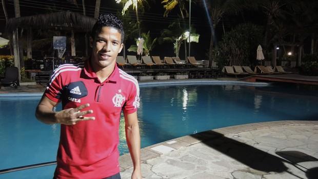 Nixon Flamengo (Foto: Cahê Mota)