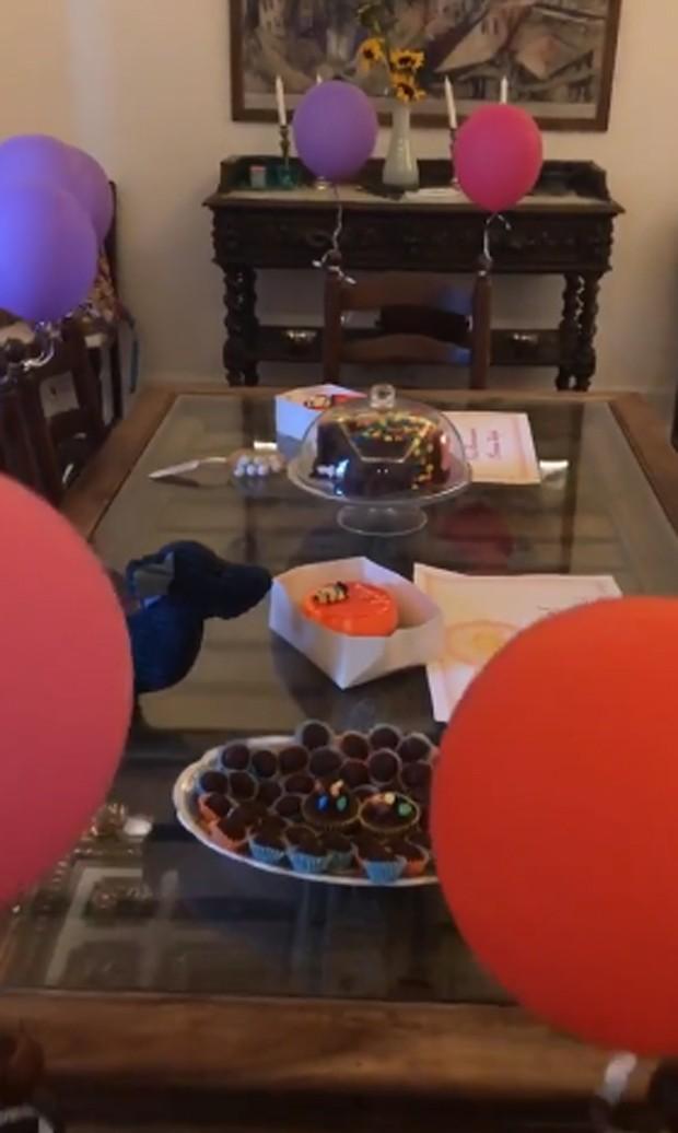 Giovanna Antonelli celebra aniversário de gêmeas (Foto: Reprodução)