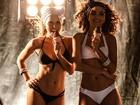 Cinco quilos mais magra, Letícia Colin grava de biquíni: 'Foquei no abdômen'