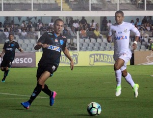 Santos x Paysandu - Alfredo e David Braz (Foto: Jorge Luiz/Paysandu)