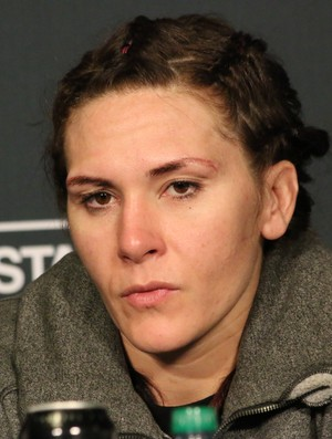 Cat Zingano UFC 184 (Foto: Evelyn Rodrigues)
