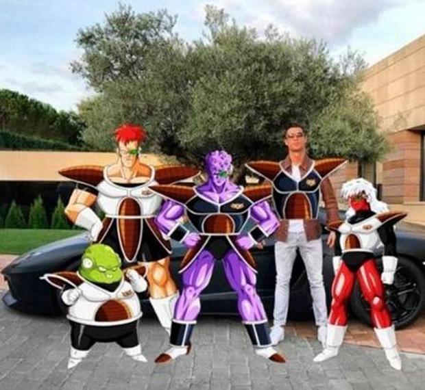 Super Sayajin... (Foto: Reprodução)