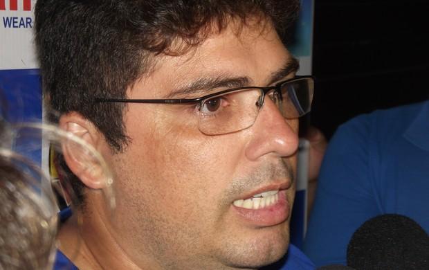 Stefferson Bruno, tácnico do Atlético-PB (Foto: Silas Batista / Globoesporte.com/pb)