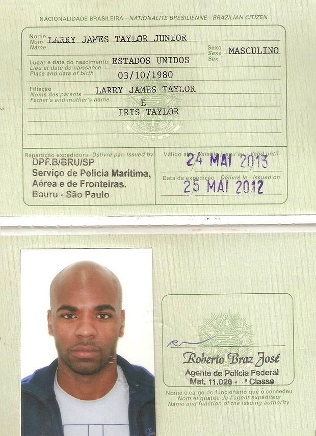 Larry Taylor passaporte basquete NBB (Foto  Divulgação) O americano  naturalizado ... 31310bfd928d0