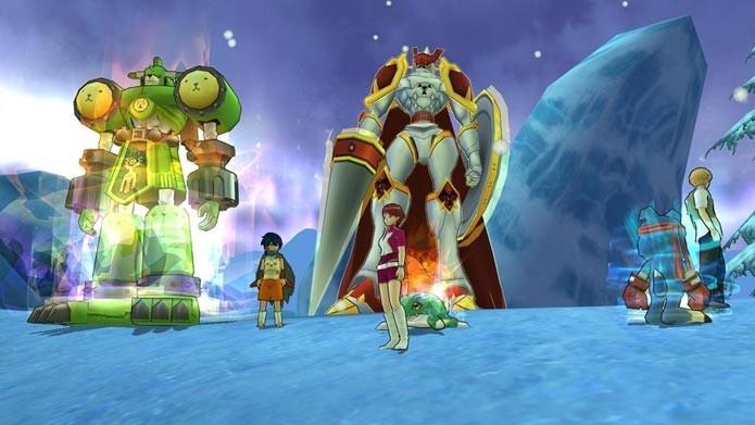 Digimon Masters Online conta com quase todos os Digimons da famosa série animada (Foto: Divulgação/Bandai Namco)