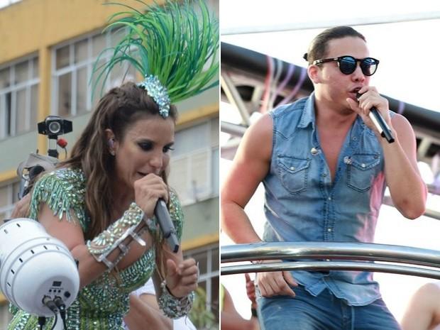 Wesley Safadão e Ivete abrem a Micareta de Feira 2015 (Foto: Arte G1)
