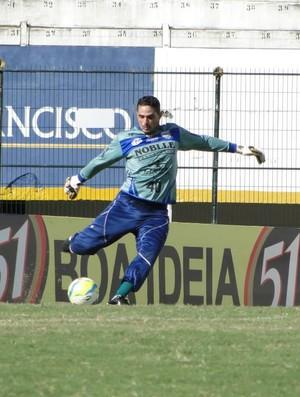 Marcelo Henrique, goleiro do Comercial (Foto: Gabriel Lopes / Comercial FC)