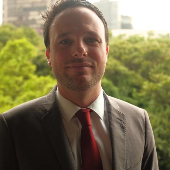Mathieu Lebégue, diretor regional da Agência Francesa de Desenvolvimento e representante do En Marche na América Latina (Foto: Divulgação)