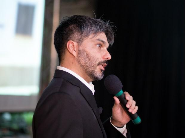 André Campos, CIO da unidade de negócio do Assaí Atacadista, foi o primeiro palestrante (Foto: Divulgação)