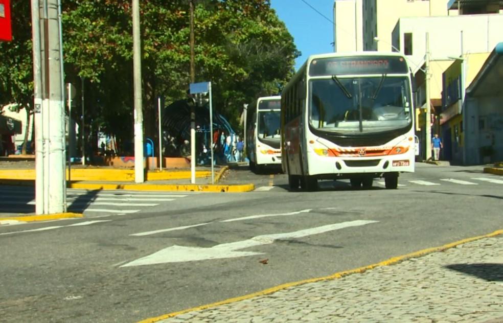Análise diz que sistema de transporte público está deficitário em Varginha, MG (Foto: Reprodução EPTV)
